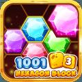 Block Jewel King - Hexagon Jewel