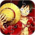 Anime Jigsaw Puzzles Games: Luffy Puzzle Anime