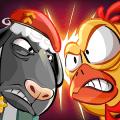 Crazy Farm War : Sheeps against Chickens