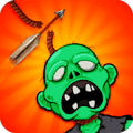 Cut Rope Zombies - Shoot The Rope