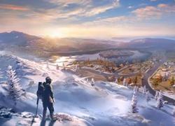 绝美风景!荒野行动新地图薰衣草田、冰川曝光