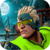 Commando Street Fighter: Free Action Games