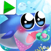 Baby Fish Hunting Game: Shark Whale and Dolphin