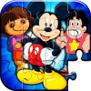 Cartoons Puzzle Game For Kids