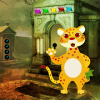 Cartoon Cheetah Rescue Best Escape Game-382