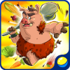 Adventures with funny pigs: game for kids,toddlers