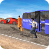 US Prisoner Police Bus: Bus Games