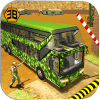 Army Bus Driving 2018 - Military Transporter