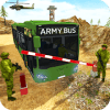 Heavy Duty Bus Game: Army Soldiers Transport 3D