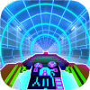 Tron Rider Moto Neon Racing 3d Tunnel Rush Game