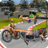 Donkey Cart Racing Simulator: Cart Transporter