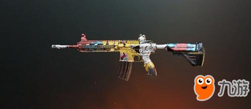 绝地求生刺激战场M416涂鸦艺术皮肤怎么样 刺激战场枪械皮肤大全