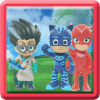 Super PJ Ninja Masks Puzzle Games