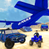 US Police Hummer Jeep Transport: Quad Bike & Plane