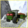 Offroad Snow Truck Driving:Fruits Transporter