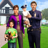 Virtual Families American Dad: Police Family Games