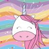 Unicornios para colorear y pintar