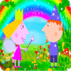 Coloring Ben And Holly