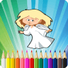 Angel Coloring Book For Me