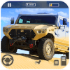Offroad US Army Truck Driving : Desert Drive Game