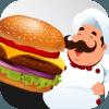 Cooking Burger. Fast Food Burger Craze