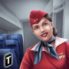 Airplane Flight Attendant -Career Job Sim