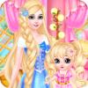 Princess And Baby makeup Spa