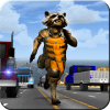 Raccoon Traffic Racer
