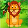 Cartoon Animal Slide Puzzles