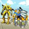 Transforming Robot Elephant Vs Ultimate Lion Robot