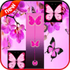 New Butterfly Pink Piano Tiles