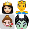 Guess the disney princess and prince from emojis