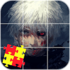 Anime Jigsaw Puzzles Games: Tokyo Ghoul Puzzle