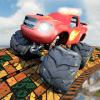 Grand Rooftop Monster Truck:Impossible Stunt Drive