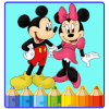 Mini mouse Coloring book