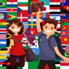 Game to learn English and 7 more languages