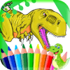New Dinosaurs Coloring Book