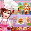 High School Cafe Chef: Cashier Girl Cash Register