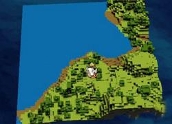 迷你世界一半海水一半绿洲地图代码 一半海水一半绿洲种子代码分享