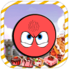 Angry Red Ball Game