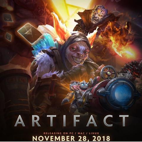 《Artifact》2018年秋季Steam发售 手游版2019年推出