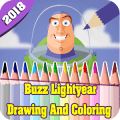 Buzz Lightyear Toy Story Coloring Book