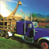 Animal rescue zoo transport truck 3d