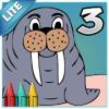 Coloring Book 3 Lite: Animals
