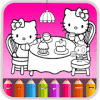 Kitty Coloring Book - Cute Drawing Game