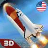 USA Air Force Rocket Flight 3D