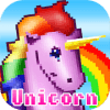 Unicorn Number Coloring - Pixel Art No.Draw