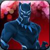 Black lighting Superhero flash Panther : City War