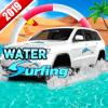 Beach Water Car Surfer Jeep Driving Sim