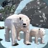 Bear Family Fantasy Jungle